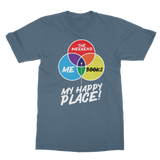 Books is My Happy Place Classic Adult T-Shirt
