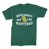 Book Marks are for Quitters! Premium Jersey Men's T-Shirt