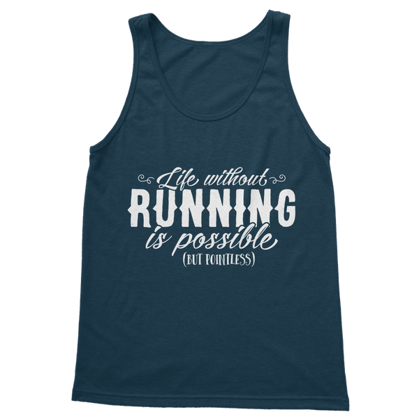 Life Without Running Classic Adult Tank Top
