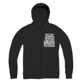 I Don't Always Tell My Wife That I'M Not Biking This Weekend But When I Do I'M Lying Premium Adult Zip Hoodie