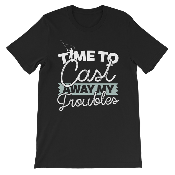 Time To Cast Away My Troubles Premium Kids T-Shirt