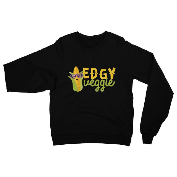 Edgy Veggy Vegan Heavy Blend Crew Neck Sweatshirt