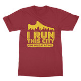 I Run This City One Mile At A Time Classic Adult T-Shirt