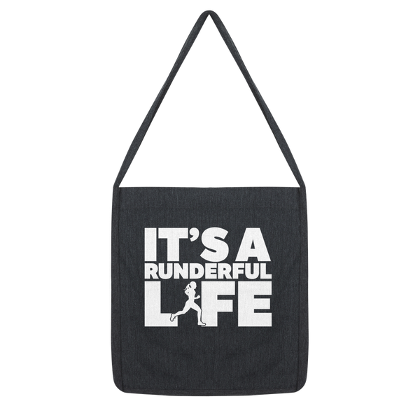 It's A Runderful Life Female Runner Classic Tote Bag