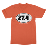 27.4 Sorry I Got Lost Classic Adult T-Shirt