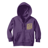 Diets Suck Beer Don't Classic Kids Zip Hoodie