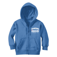 Camping My Weekends Would Be Pointless Without it! Classic Kids Zip Hoodie