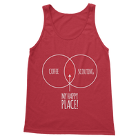 Happy Place Coffee And Scouting Classic Women's Tank Top