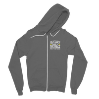 The Weak Need Not Apply Being a Scout Leader Aint No 9 to 5 Classic Adult Zip Hoodie