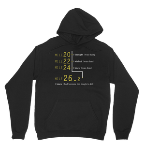 Marathon Runner Too Tough To Kill Classic Adult Hoodie
