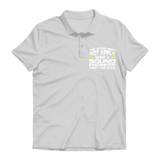 The Weak Need Not Apply Being a Sound Engineer Aint No 9 to 5 Premium Adult Polo Shirt