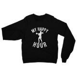 My Happy Hour Female Weightlifting Classic Adult Sweatshirt