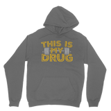 This Is My Drug Weightlifting Classic Adult Hoodie