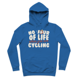 No Hour of Life is Wasted With A Cycling Premium Adult Hoodie