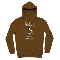Golf Story Loading... Please Wait Premium Adult Hoodie