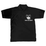 Owl Be Back! Classic Adult Polo Shirt