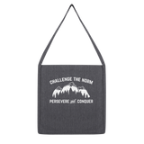 Challenge The Norm White Logo Classic Tote Bag