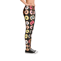 Doughnut Pattern Full Leggings