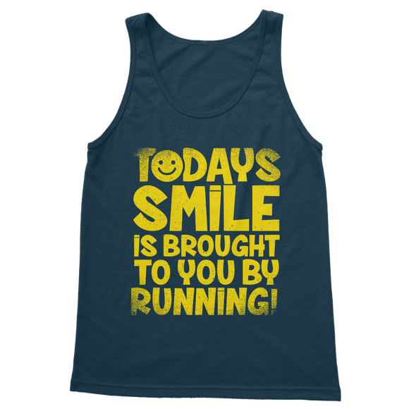 Todays Smile Is Brought To You By Running Classic Adult Tank Top
