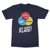 Camping is My Happy Place Classic Adult T-Shirt