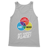 Beer is My Happy Place Classic Adult Tank Top