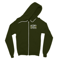 The Weak Need Not Apply Being a Teacher Aint No 9 to 5 Classic Adult Zip Hoodie