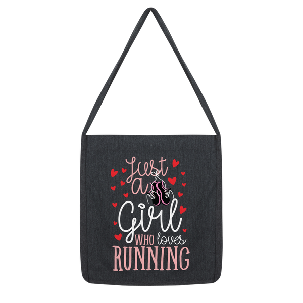 Just A Girl Who Love Running Classic Tote Bag