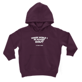 Where Would I Be Without Golf? Classic Kids Hoodie