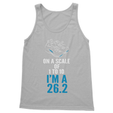 On A Scale Of 1 To 10 Marathon Runner Classic Women's Tank Top