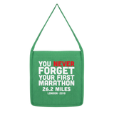 You Never Forget Your First Marathon London 2018 Classic Tote Bag