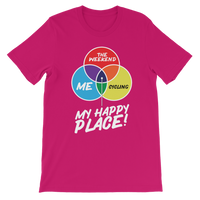 Cycling is My Happy Place Premium Kids T-Shirt