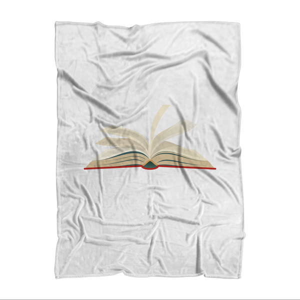 Skip the Movie Read the Book Sublimation Adult Blanket
