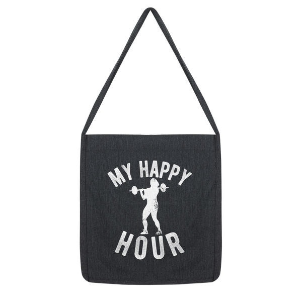 My Happy Hour Female Weightlifting Classic Tote Bag