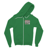 Weekend Weather Sunny With a Chance of Biking? Classic Adult Zip Hoodie