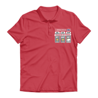 Weekend Weather Sunny With a Chance of Pizza? Premium Adult Polo Shirt