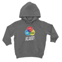 Books is My Happy Place Classic Kids Hoodie