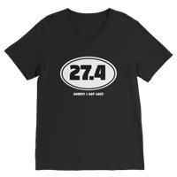 27.4 Sorry I Got Lost Classic V-Neck T-Shirt
