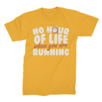 No Hour of Life is Wasted When You've Running Premium Jersey Men's T-Shirt