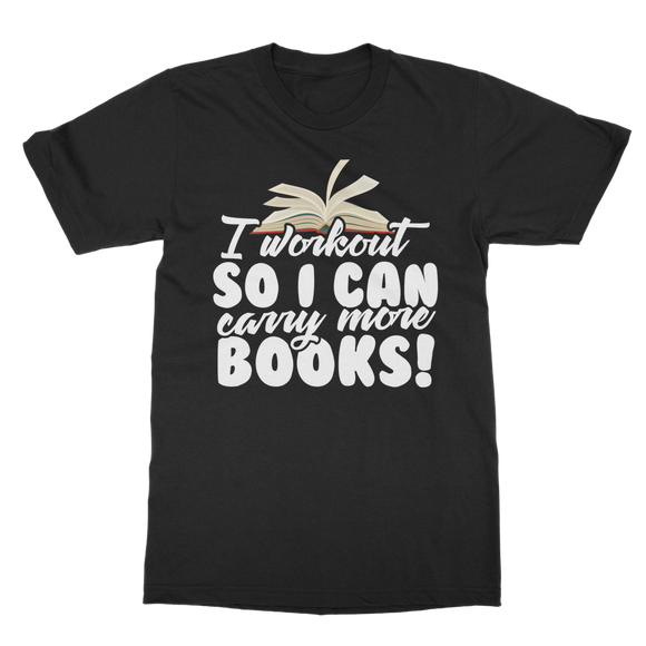 Books - Workout Classic Adult T-Shirt