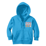 Weekend Weather Sunny With a Chance of Golf? Classic Kids Zip Hoodie