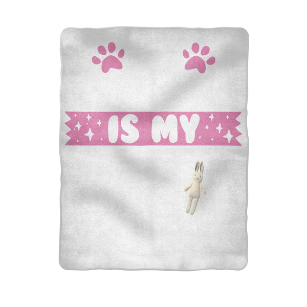 My Frenchie is My BFF Sublimation Baby Blanket