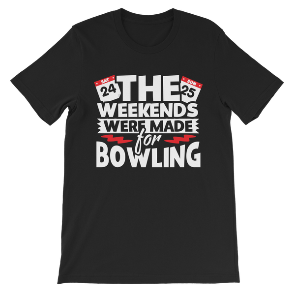The Weekend Were Made For Bowling Premium Kids T-Shirt