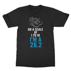On A Scale Of 1 To 10 Marathon Runner Classic Adult T-Shirt