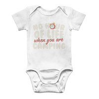 No Hour of Life is Wasted With A Camping Classic Baby Onesie Bodysuit