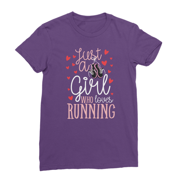 Just A Girl Who Love Running Classic Women's T-Shirt