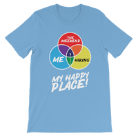 Hiking is My Happy Place Premium Kids T-Shirt