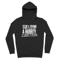 Scuba Driving is More Than Just a Hobby Premium Adult Hoodie