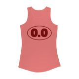 0.0 Funny Running Women Performance Tank Top