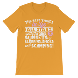 All The Best Things in Life Start With The Letter S - Camping T-Shirt Premium Kids T-Shirt