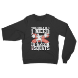 Bacon and Squats Male Classic Adult Sweatshirt